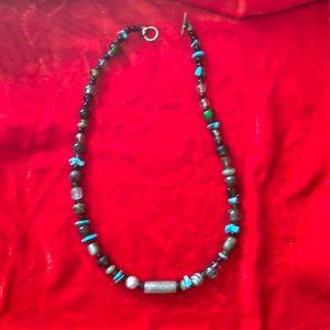 Jewelry - Handmade semi-precious stone necklace